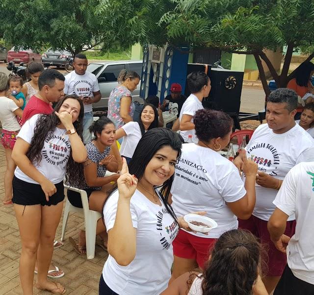 FOTOS: Equipe realiza 2º Família Solidária em Francinópolis e arrecada brinquedos para crianças; coordenador geral Francisco Victor comenta sobre origem do evento.