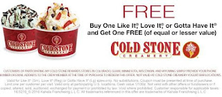 photo about Cold Stone Printable Coupon named Chilly Stone Creamery Printable Discount codes May well 2018 - Helpful