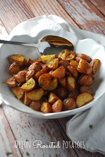 These roasted potatoes are perfectly cooked! Even kids love to eat their veggies with these on the table!