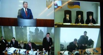 Порошенко допросили по делу Януковича по видеосвязи