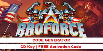 Broforce cd key, Broforce key, Broforce code
