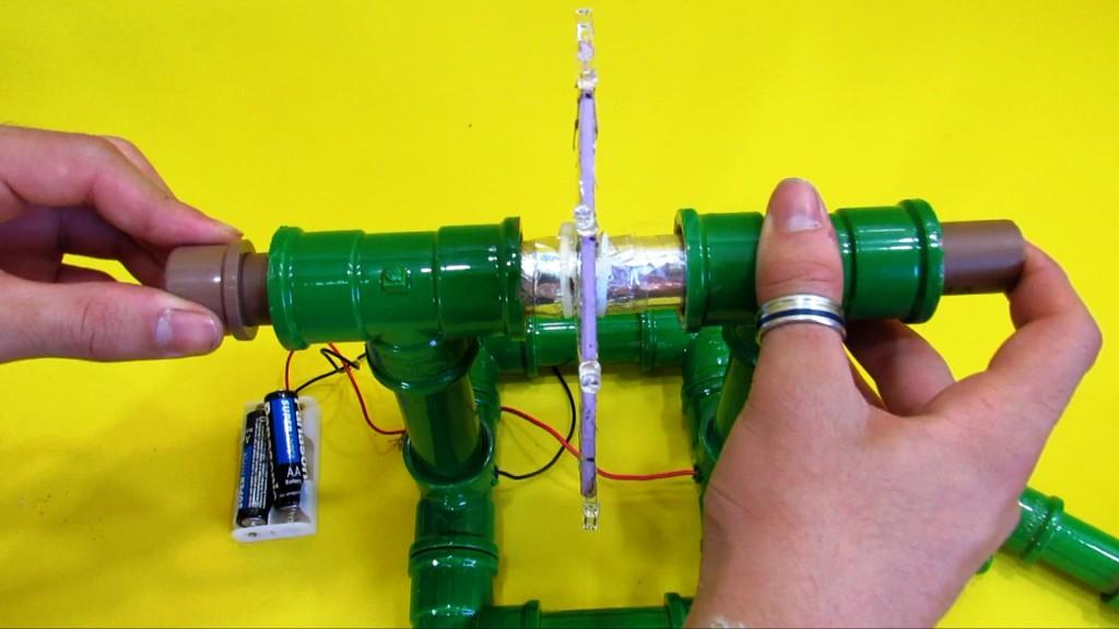 Circuito Eletrico : A arte de aprender brincando roda leds caseira