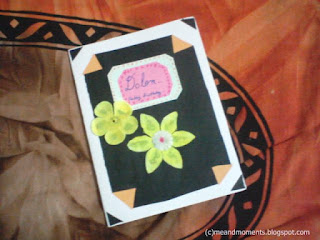 birthday card, handmade birthday card