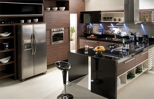 Cocinas Modernas para Espacios Pequeños Modern Kitchens ~ Diseño y ...