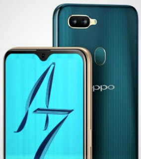 Oppo A7 Smarth Phone 6.2-inch display