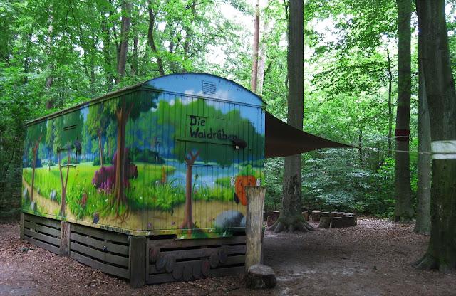 Forest Kindergarten's Construction Trailer