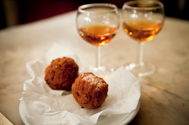 meatballs Ca' d'Oro alla Vedova photo © Aperture Tours
