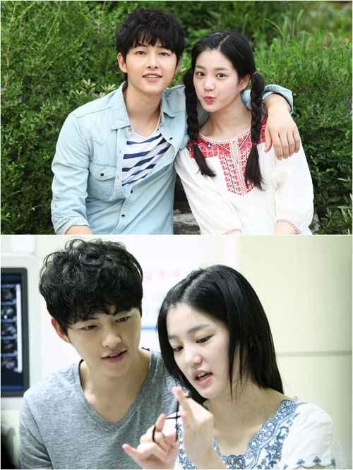 song joong ki lee yoo bi siblings nice guy daily pop news