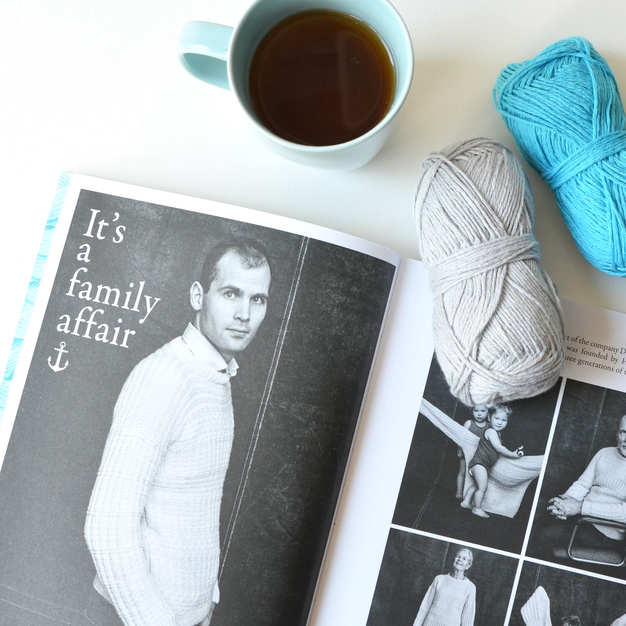 YARN book-a-zine published by Scheepjes contains 15 knitting and crochet patterns.