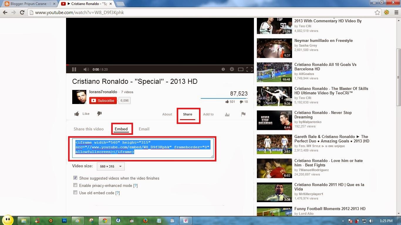 Cara Memasang Youtube di Blog Pada Menit Tertentu ~ Pripun ...