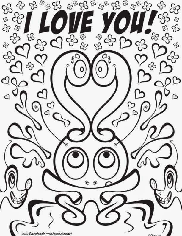 Free I Love You Boyfriend Coloring Pages, Download Free Clip Art ...   792x612