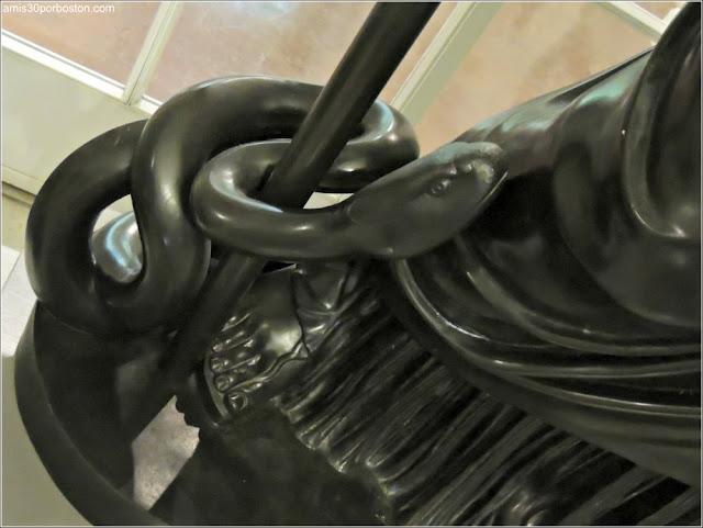 Serpiente de la Escultura de Athena Giustiniani