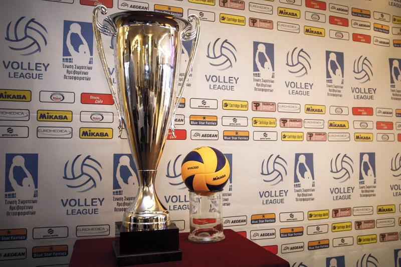 Εθνικός Αλεξανδρούπολης - Ηρακλής στην πρεμιέρα της Volley League. Η κλήρωση του πρωταθλήματος