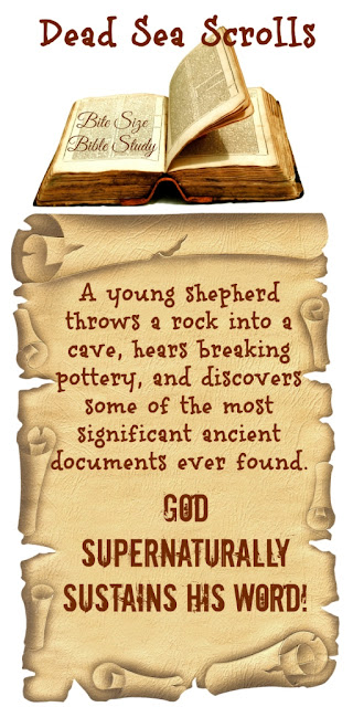 Living Dead Sea Scrolls -God sustains His Word