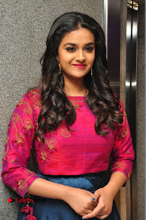 Actress Keerthi Suresh Stills at Remo Success Meet  0036.JPG