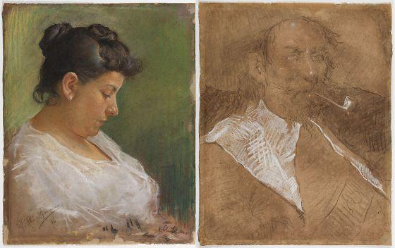 Picasso, madre, retrato de la madre,