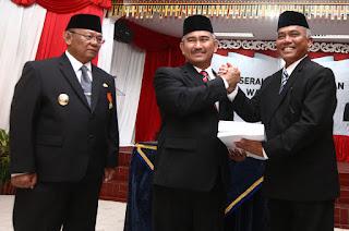Serah Terima Jabatan Walikota Tarakan