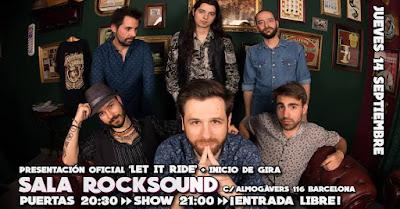 THE GRASSLAND SINNERS en ROCKSOUND 14/09/2017