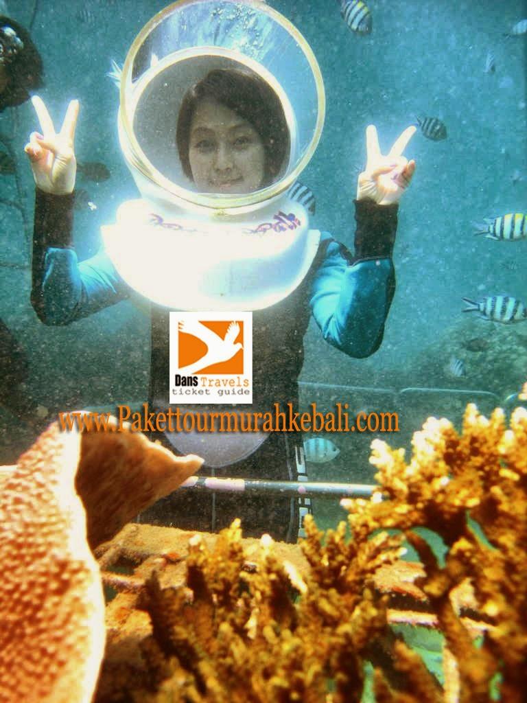 Sanur Waterwalk - Seawalker Sanur - Sanur underwater