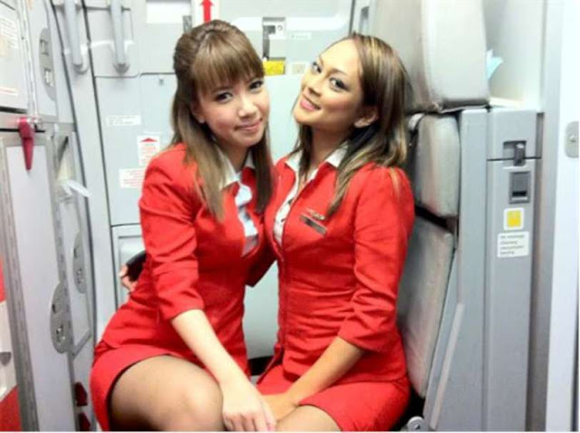 Thai AirAsia's Stewardesses Uniform, the 'eye-catching outfits'.