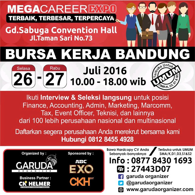 Mega Career Expo Bandung - Sabuga