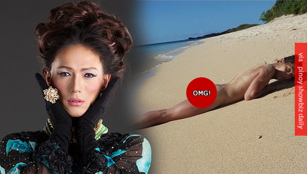 Bb Gandanghari posts nude beach photo