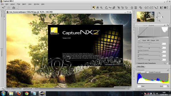 Free Download Sharing Software: Nikon Capture NX2 v 2 4 0 Full