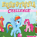 My Little Pony Equestrivia Challenge game