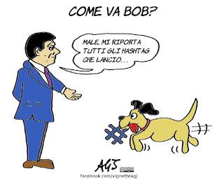 renzi, bob, blog, lingotto, vignetta, satira