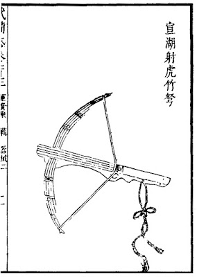 Ming Chinese hand crossbow