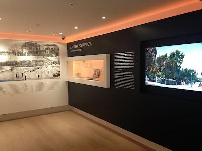 O recém-inaugurado Museu da Vila