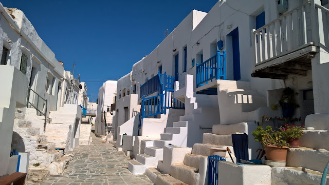 Folegandros' Hora and the Castle