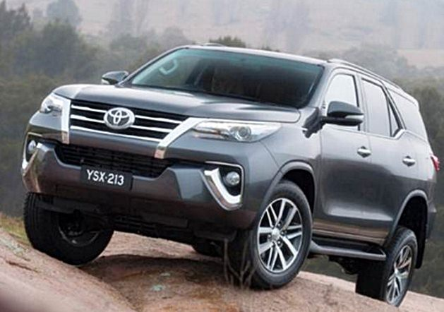 Toyota fortuner philippines 2017 Release date