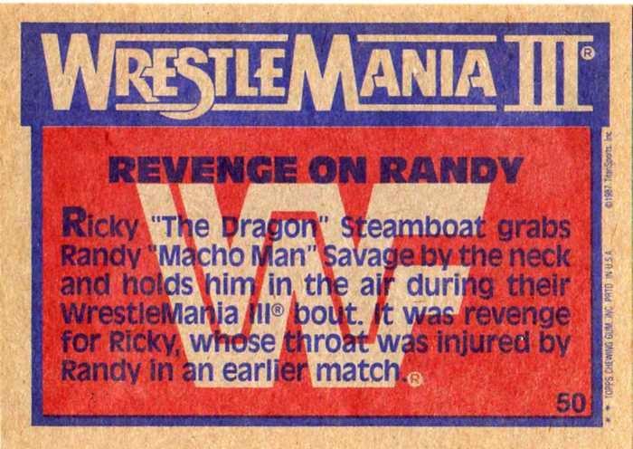 Cardboard Junkie Hall Of Fame Macho Man Randy Savage