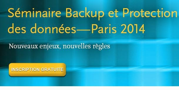 Séminaire sur la sauvegarde à une vraie stratégie de protection des données Paris France ; Jeudi octobre