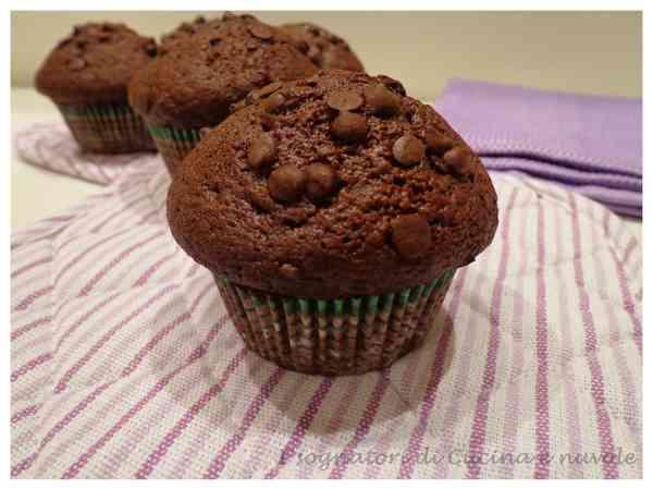 I Sognatori Di Cucina E Nuvole Ricetta Muffin Al Cacao E Cioccolato