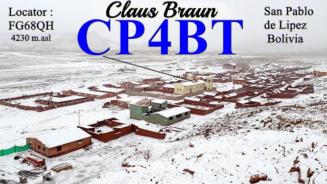 Gruß von CP4BT
