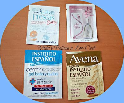 Muestras de instituto español