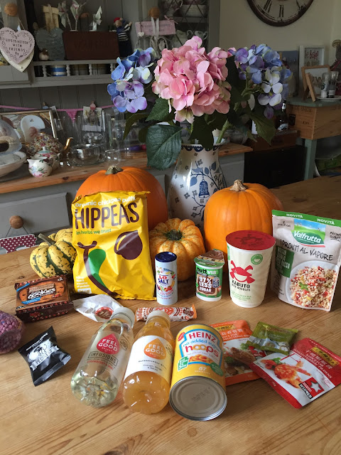 Degustabox food subscription box - October 2017
