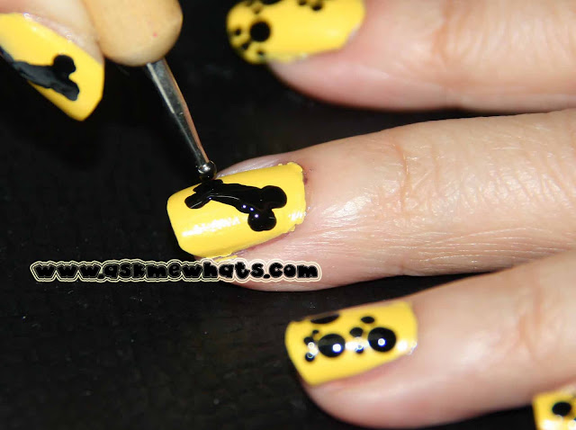 a photo of Dogs Nail Art Tutorial