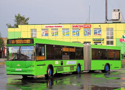 Расписание городских автобусов Пинск