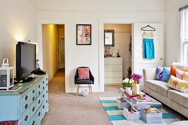 Inspiração de decoração para espaços pequenos