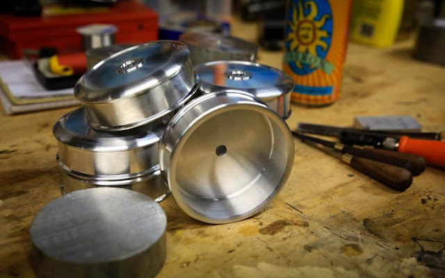 Tailor Made By V. Huttley - The Lucky 7 Oberon Fly Reels - Part 1