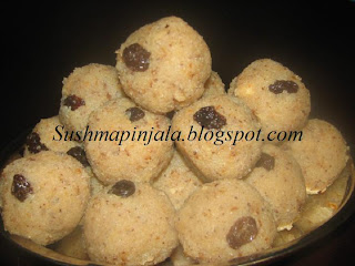 Coconut Ladoo/ kobbari ladoo  with Condensed Milk