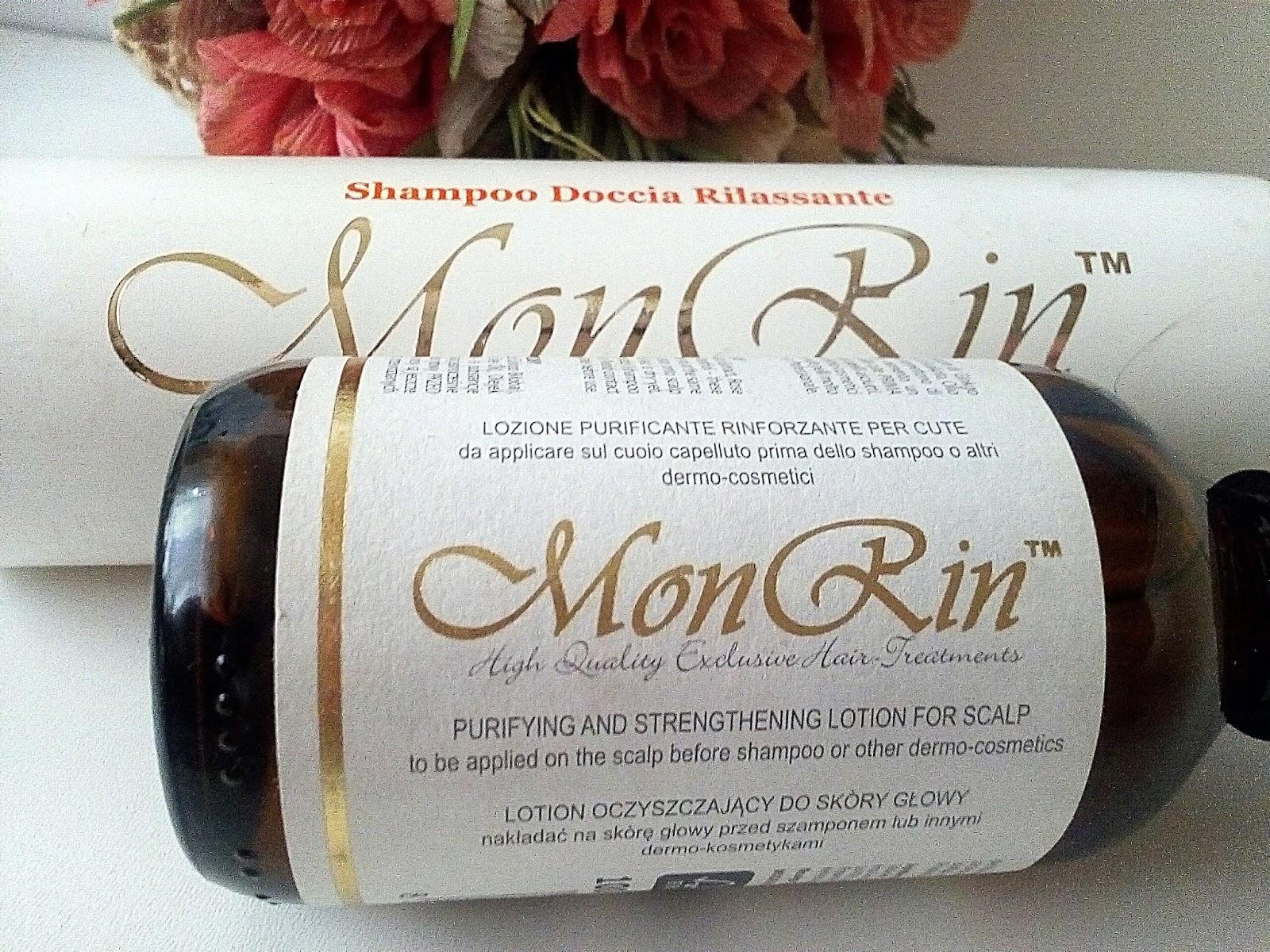 Kosmetyki trychologiczne MonRin - pielegnacja włosów i skóry głowy