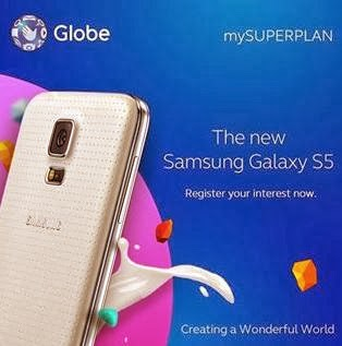 Globe Telecom Opens Samsung Galaxy S5 Registration Page