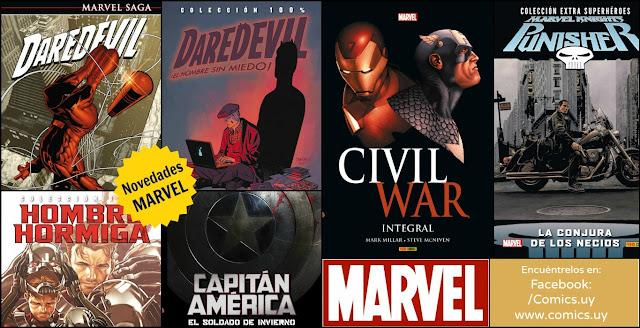 Novedades de Marvel comics