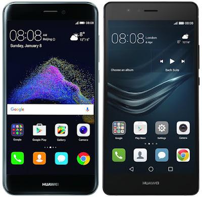 Huawei P8 Lite (2017) vs Huawei P9 Lite