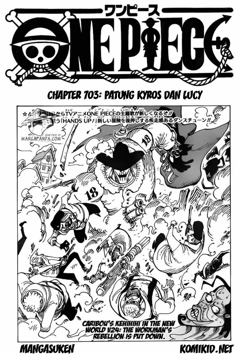 003 One Piece 704   Patung Kyros