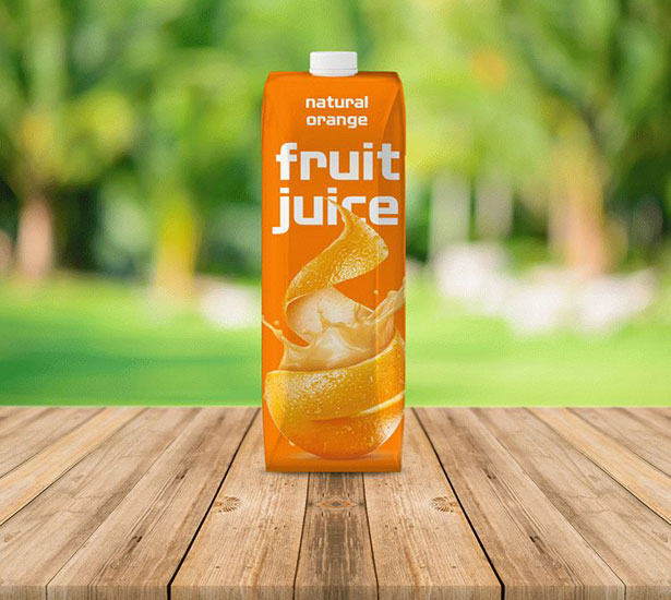 Gratis Mockup Packaging/Kemasan PSD 2018 - Fruit Juice Packaging mockup PSD